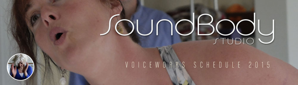 SoundBody VoiceWorks VocalBody Arts Schedule